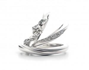 おしゃれで人気のある結婚指輪