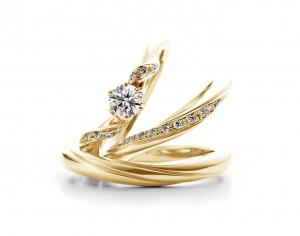 西尾の可愛い結婚指輪