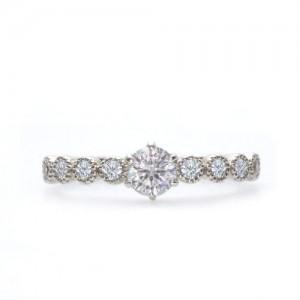 愛知県のゴージャスな婚約指輪